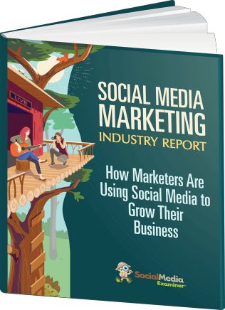 social media marketing report 2020 cover